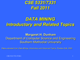 Data Mining - Lyle School of Engineering