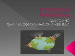 PLANEACION TRANSVERSAL