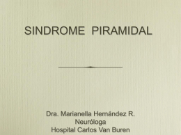 SINDROME PIRAMIDAL