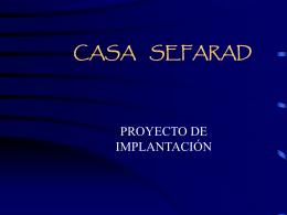 CASA SEPHARAD - Congreso Sefarad Mundial