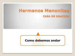 "IGLESIA CASA DE ORACION ""Una Iglesia Visible"""