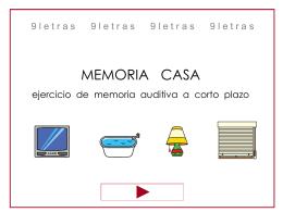 MEMORIA-CASA