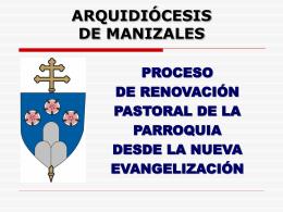 II. MINISTERIOS