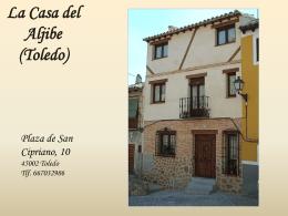 La Casa del Aljibe (Toledo)