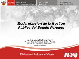 Diapositiva 1 - Oficina Nacional de Gobierno Electronico e
