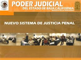NUEVO SISTEMA DE JUSTICIA PENAL DEL ESTADO DE …