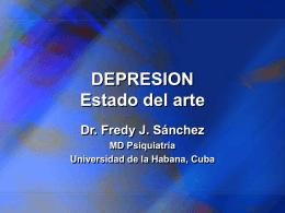 DEPRESION Estado del arte