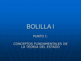 BOLILLA I - UAIDerechoAdministrativo