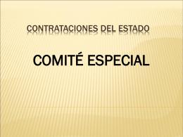 Contrataciones del Estado Modulo III