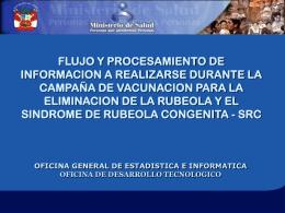 FLUJO Y PROCESAMIENTO DE INFORMACION A …
