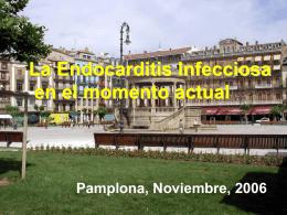 La endocarditis infecciosa en el momento actual