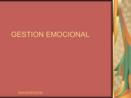 GESTION EMOCIONAL - diverrisa