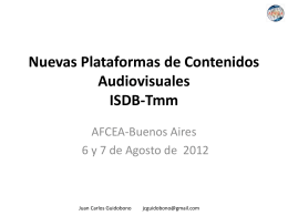 Seminario de Tv Digital
