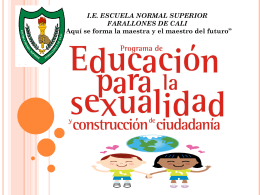 ESCUELA NORMAL SUPERIOR FARALLONES DE CALI …