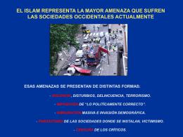 El Islam contra Nosotros