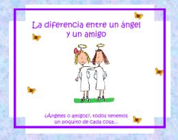 Un angel o un amigo - Devocionales Cristianos