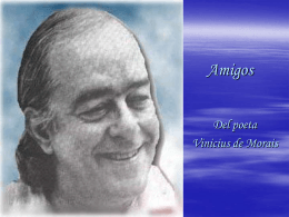 Amigos - Vinicius de Morais