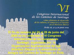 Diapositiva 1 - AMIGOS DEL CAMINO DE SANTIGO EN …