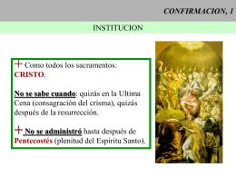 CONFIRMACION, 1 - CAMINANDO CON JESUS