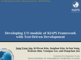 TDD to KIAPS Framework
