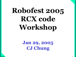 Robofest Info Meeting