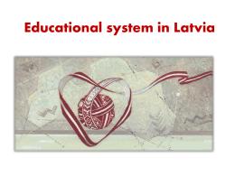 Izglītības sistēma Latvijā
