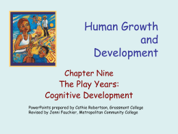 Human Development - Metropolitan Community College