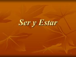 Ser & Estar