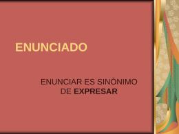 ENUNCIADO