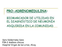 PRO-ADRENOMODULINA: BIOMARCADOR DE UTILIDAD …