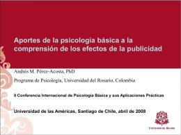 Diapositiva 1 - Universidad del Rosario