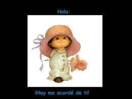 Quiero_tu_sonrisa.pps - MINISTERIO INFANTIL ARCOIRIS