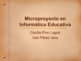 """MicroProyecto """"Mi Blog, Una puerta al ciber Espacio"""".pps"""