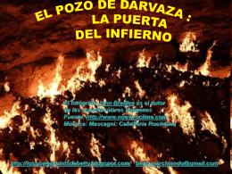 EL POZO DE DARVAZA : LA PUERTA DEL INFIERNO