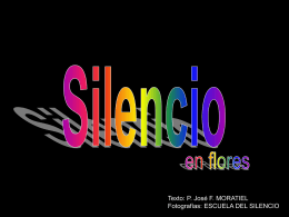 SILENCIO EN FLORES - Dominicos
