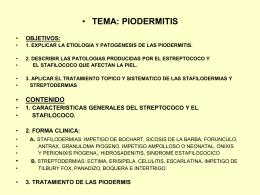 PIODERMITIS - clasesmedicina