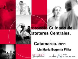 Protocolo Cuidado de Cateteres Centrales.