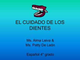 EL CUIDADO DE LOS DIENTES - The American School of …