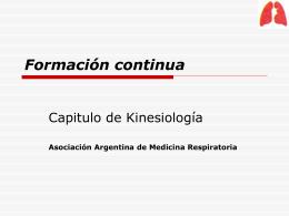 Kinesiologia Respiratoria