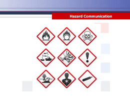 Hazard Communication - Home Page