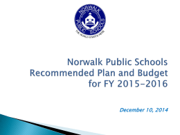 Enrollment Trends - Nancy On Norwalk