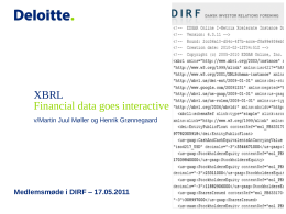 XBRL - DIRF