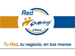 Diapositiva 1 - Red Amigo, Sistema Multinivel Amigo Telcel