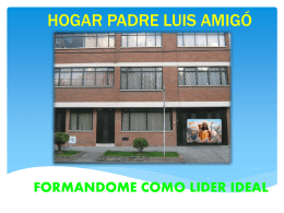 HOGAR PADRE LUIS AMIG&#211