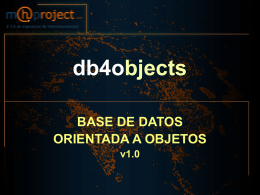 db4objects - Receptores