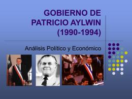 GOBIERNO DE PATRICIO AYLWIN (1990