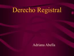 1REGISTRO - 2El registro de la propiedad inmueble …