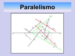 Paralelismo y Perpendicularidad. Distancias