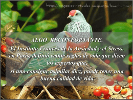 ALGO RECONFORTANTE. - INTEF