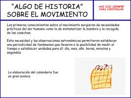 """ALGO DE HISTORIA"""" SOBRE EL MOVIMIENTO"""